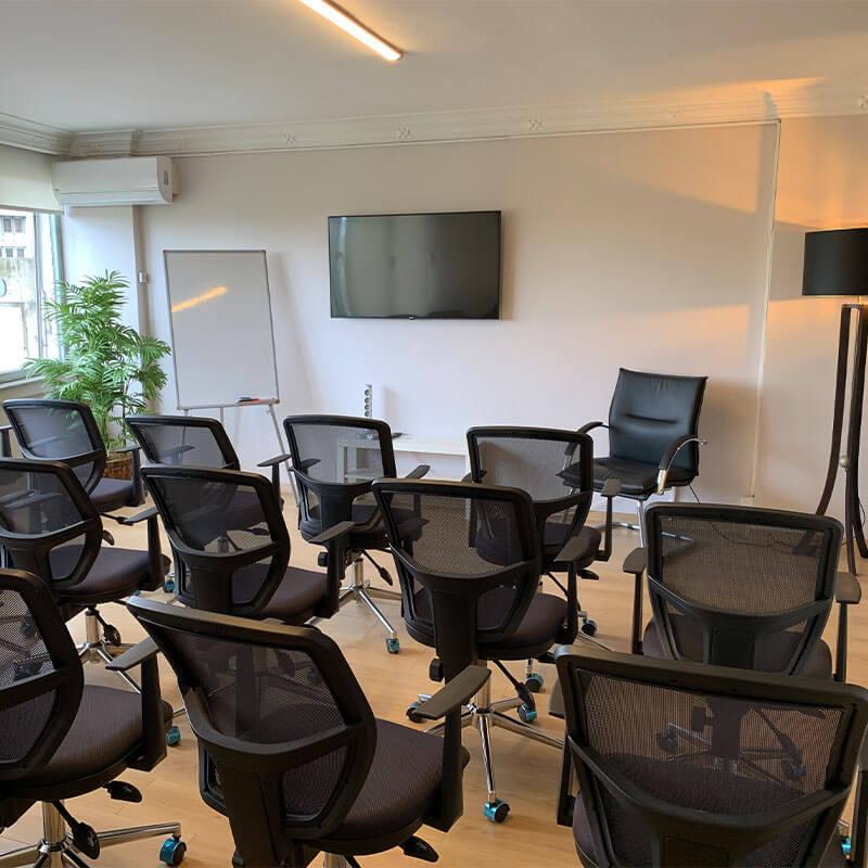 Daire Coworking Toplantı Odaları